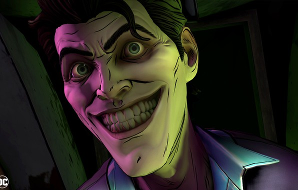 Picture The game, Smile, Joker, Teeth, Eyes, Smile, Joker, Eyes, Villain, Game, DC Comics, Telltale Games, …
