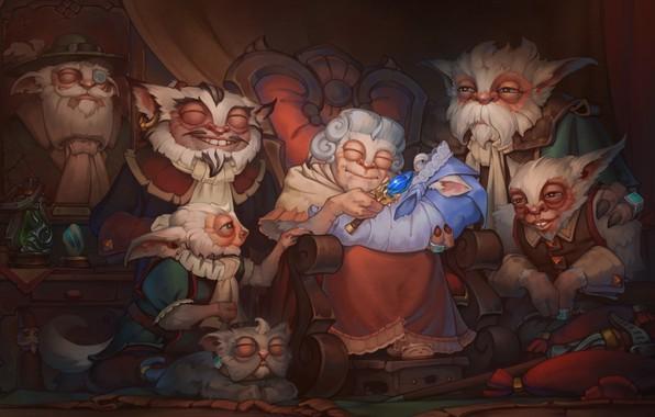 Picture the game, fantasy, Family, DOTA2, Meepo, Values Bundle