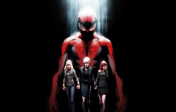 Picture death, spider-man, Ultimate, comic, spider-man, mount, Marvel Comics