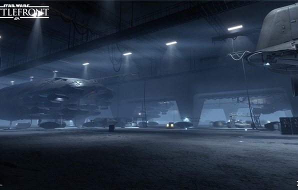 Wallpaper Hangar Camera Star Wars Battlefront Images For Desktop Section Igry Download