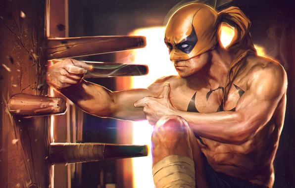 Picture superhero, Marvel Comics, Iron Fist, comics, iron fist, Denys Tsiperk