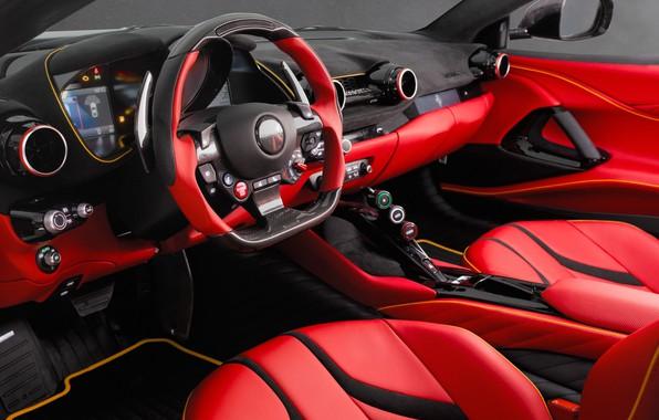 Picture the wheel, salon, 2018, Mansory, Superfast, Stallone, Ferrari 812