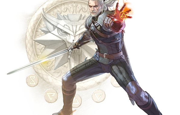 Picture the Witcher, Geralt, Geralt of Rivia, Geralt From Rivia, SoulCalibur VI