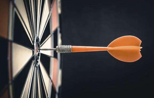 Picture dart, bullseye, target