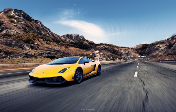 Picture Lamborghini, Gallardo, NFS, Hot Pursuit, Need For Speed, NFSPhotosets