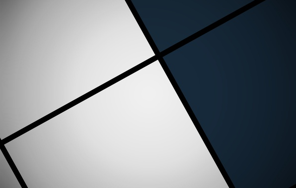 Picture white, blue, black, squares, geometry, design, color, material