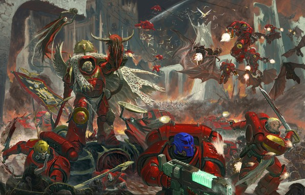 One of the oldest and proudest of all Space Marine Chapters, the Blood  Angels are well known for their bloodthirsty zeal, favouring close combat  and the use ...