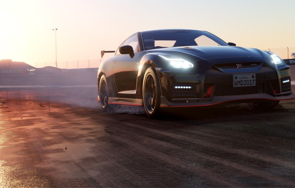Picture car, game, speed, Project CARS 2