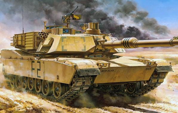 Picture USA, Abrams, Abrams, main battle tank, MBT, M1A2