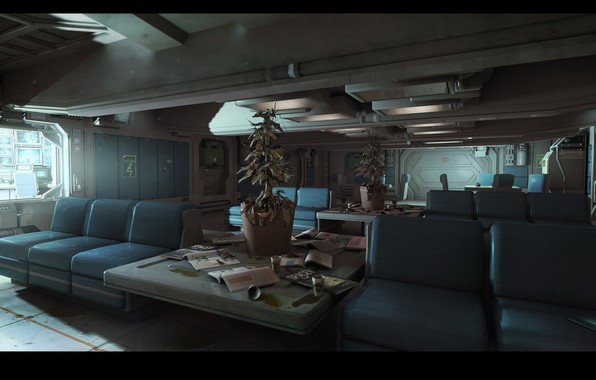 Picture compartment, Alien: Isolation, Environment Dump, Hospital PsychScience
