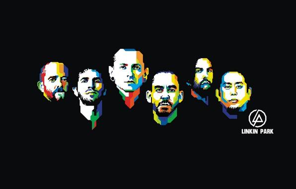 Picture ART, Linkin Park, Mike Shinoda, Chester Bennington, Rob Bourdon, Brad Delson, Joseph Hahn, Dave Farrell