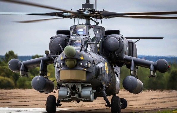 Picture Helicopter, Army, Russia, Aviation, BBC, Mi-28N, The spoiler, Night hunter, The Russian air force, Mi-28, …