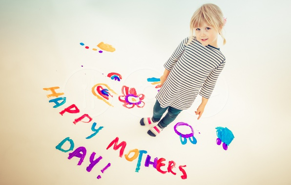 Picture Colours, Painting, Mothers Day