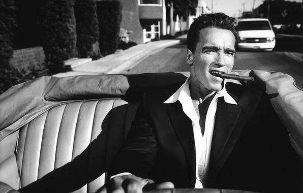 Handsome Prabhas In Black Shirt And Goggle Hd Wallpaper: Wallpaper Man, Actor, Arnold Schwarzenegger, Arnold