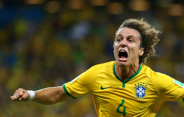 Wallpaper Sport, Brazil, Player, David Luiz Images For
