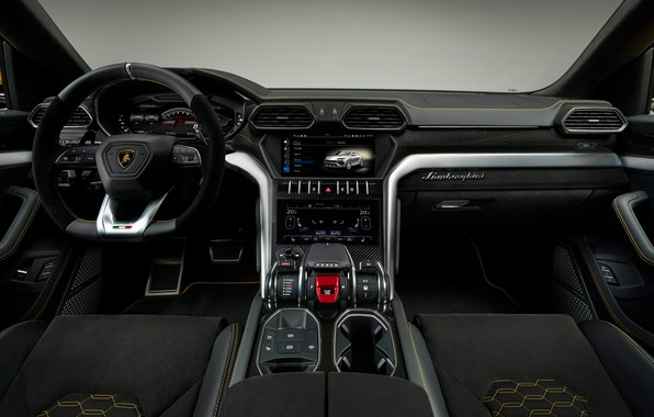 Picture Lamborghini, salon, 2018, Urus