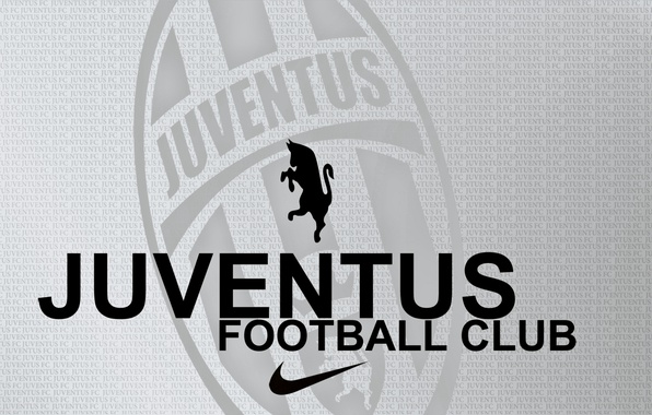 Picture letters, Zebra, grey background, juventus_football_club