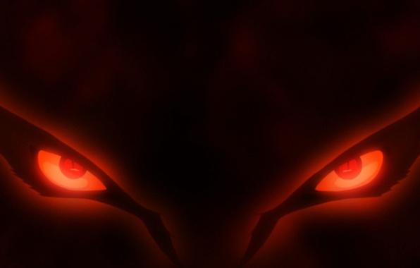 Picture red, game, Naruto, fox, eyes, anime, red eyes, evil, asian, manga, japanese, Naruto Shippuden, Kyuubi, …
