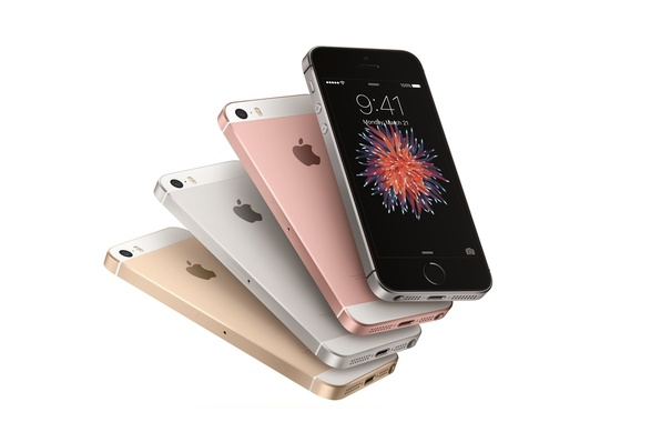 Picture Apple, logo, Iphone, smartphone, technology, cell phone, high tech, iPhone SE
