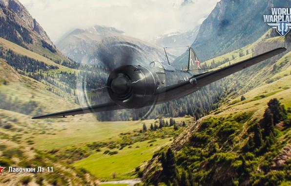 Picture Lavochkin, World of Warplanes, WoWp, Wargaming, La-11