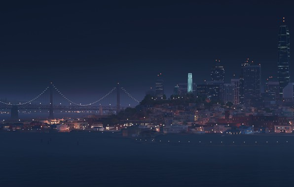 Picture panorama, San Francisco, Watch Dogs 2