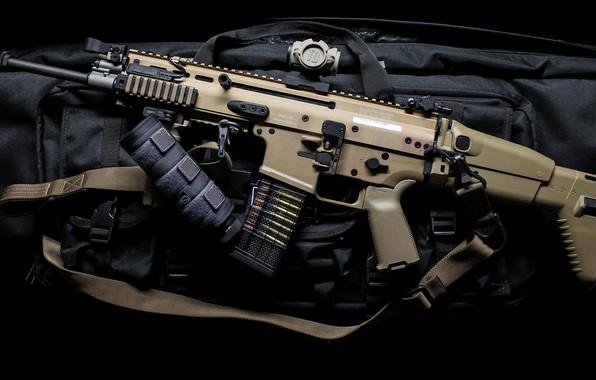 Picture weapons, machine, weapon, assault rifle, SCAR, assaul rifle, SCAR-L