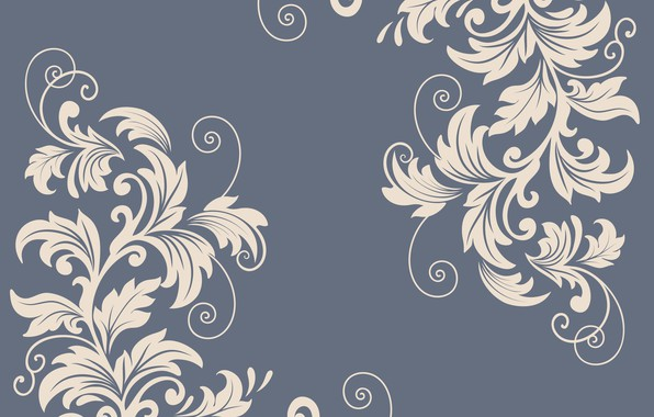 Picture flowers, pattern, vector, texture, decor