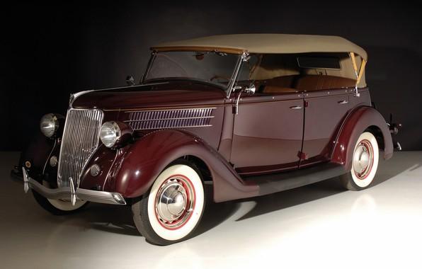 Picture retro, Ford, Deluxe Phaeton