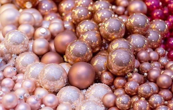 Picture balls, decoration, balls, Christmas toys