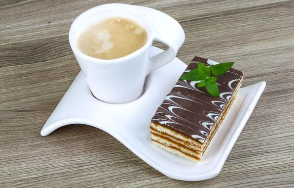 Picture coffee, cake, dessert, sweet