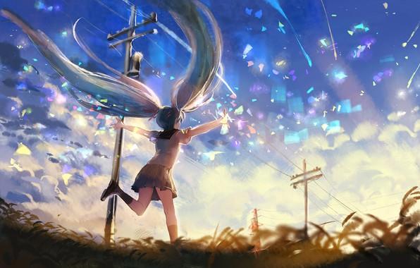 Picture nature, Hatsune Miku, Vocaloid, sishenfan