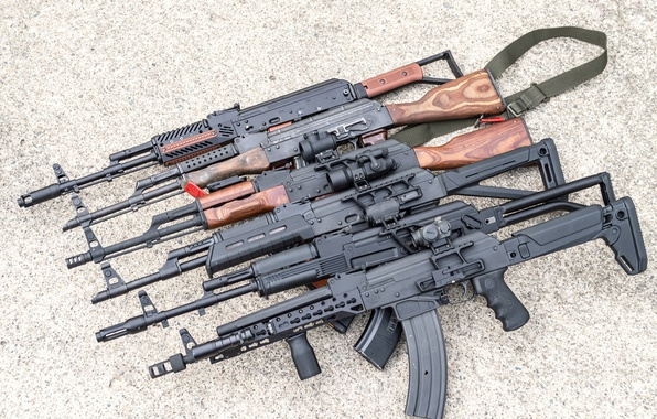 Picture weapons, Kalash, machines