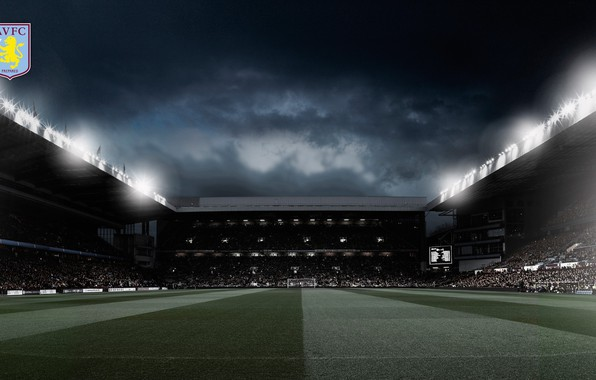Wallpaper Wallpaper, Sport, Logo, Stadium, Football, Aston