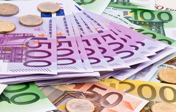 Picture money, Euro, Euro, currency