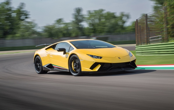 Picture Lamborghini, race, speed, Huracan, Huracan Performante, Lamborghini Huracan Performance