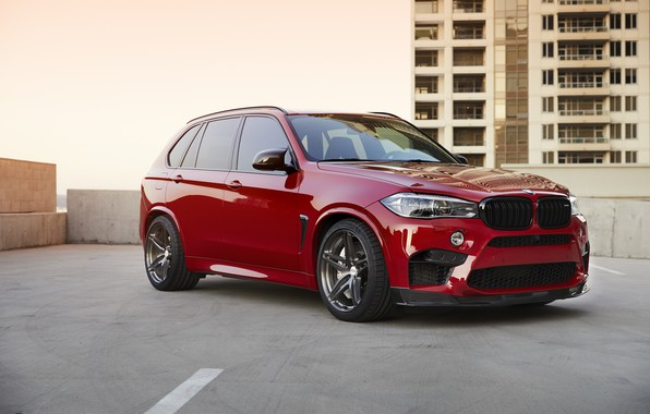 Picture BMW, RED, X5M, Sight, F85