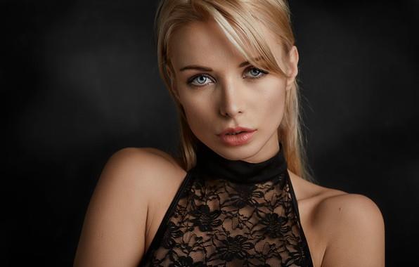 Wallpaper Face Model Blonde Long Hair Blue Eyes: Wallpaper Girl, Long Hair, Dress, Photo, Blue Eyes, Model