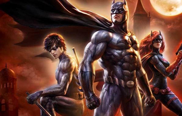 Picture logo, Batman, bat, hero, nightcrawler, DC Comics, Batgirl, yuusha, Gotham, Gotham City, Batman: Bad Blood
