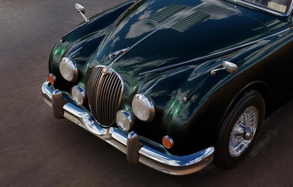 Picture Jaguar, the front, Forza Horizon 3