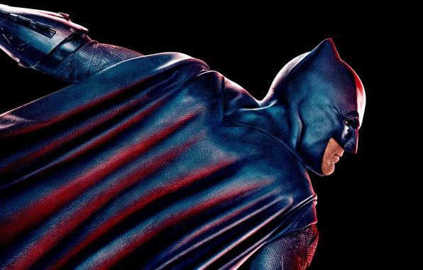 Picture fiction, mask, costume, Batman, black background, poster, Batman, Ben Affleck, comic, DC Comics, Bruce Wayne, …