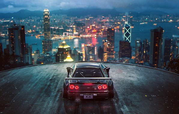 Picture City, Nissan, Skyline, Tuning, Future, R34, by Khyzyl Saleem