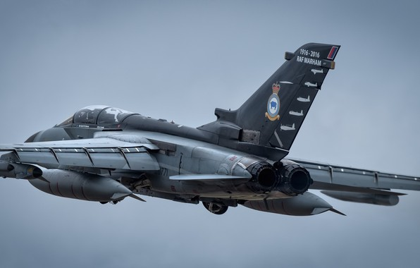Picture flight, flies, Tornado GR4, combat aircraft