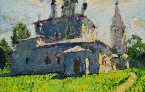 Picture 2006, Peter Petyaev, Alexandrovsky convent, in Suzdal