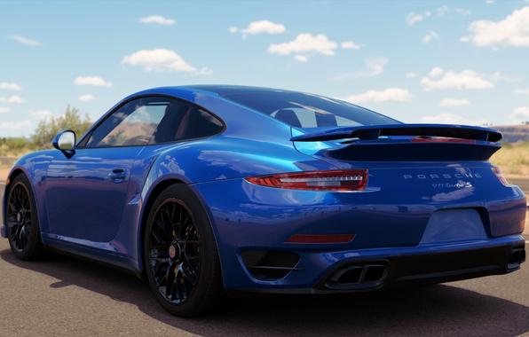 Photo Wallpaper Porsche 911 Turbo S Forza Horizon 3