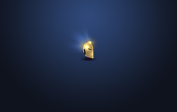 Photo wallpaper magic, minimal Wallpapers, DC comics, helm, Doctor Fate, Dr