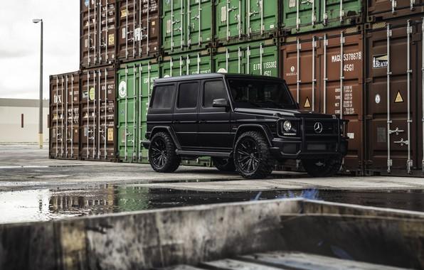 Wallpaper black, Mercedes Benz, AMG, Matte, Gelandewagen ...