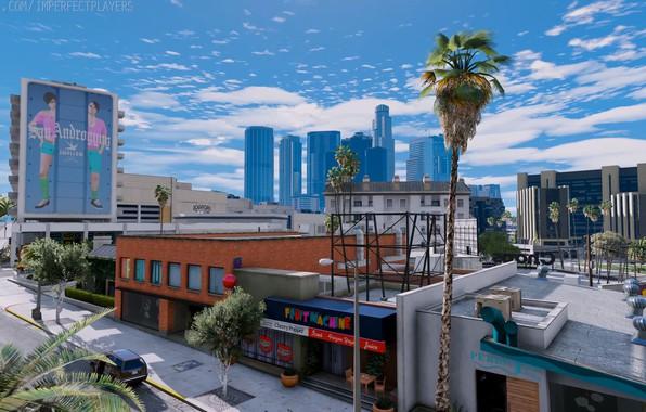 Picture GTA V, GTA 5, CITY, GAME, ULTRA REALISTIC GRAPHICS