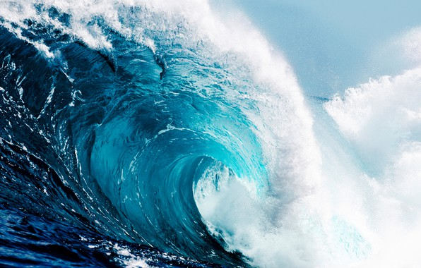 Picture the ocean, wave, wave