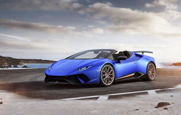 Picture Lamborghini, supercar, convertible, Lamborghini, Performante, Huracan, hurakan
