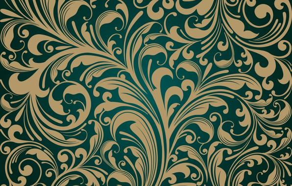 Picture retro, Wallpaper, vector, design, vintage, pattern, Decorative